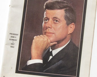 LIFE Magazine JFK November 29, 1963 - Remembering President John F.Kennedy-The Tragedy in Camelot
