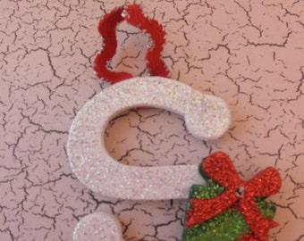 Monogram Letter Ornament