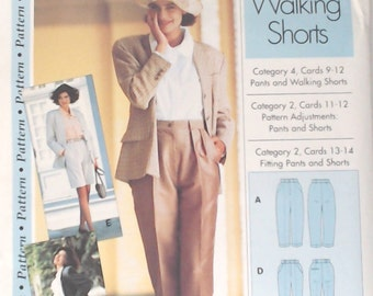 IMP BV/IMP Inc Sewing Pattern Pants and Walking Shorts Pattern - Sewing Step-By-Step - Sizes 4 to 22 Uncut Factory Fold Pattern