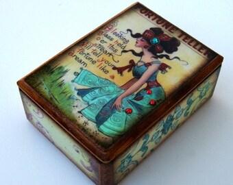 Fortune Teller Trinket Box