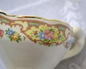 Vintage Creamer Pitcher Floral Design Shabby Boho Tea Party PanchosPorch