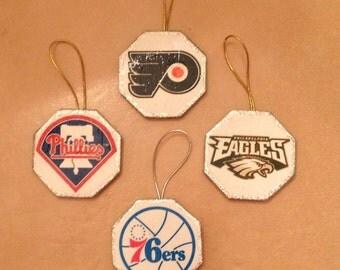 Philadelphia Sports Teams Ornament
