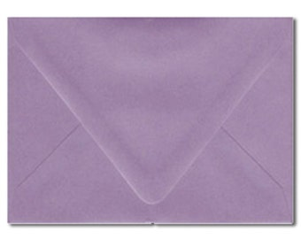 A7 Envelopes Australia Purple Lilac Mauve Violet Metallic Pearl 5.25x7.25 Inch Suitable For 5x7 Inch Invitation Pack of 10 Wedding Party