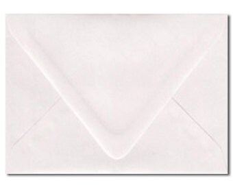 A7 Envelopes Australia White Metallic Pearl 5.25x7.25 Inch For 5x7 Inch Invitation Pack of 10 Wedding Envelopes Invitation Envelopes