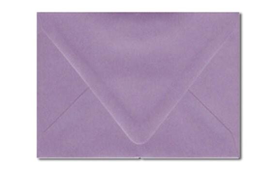 a7 envelopes australia purple lilac mauve violet metallic