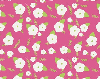 One Yard Gleeful - Charms Abloom - Premium Cotton Quilt Fabric - by Sew Caroline for Art Gallery Fabrics - AGF Limited Edition (W1972)