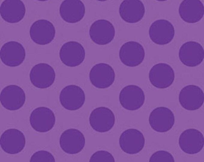 "29"" REMNANT This 'N That - Gum Drops in Violet - Cotton Quilt Fabric - Designed by Nancy Halvorsen for Benartex (W1663)"