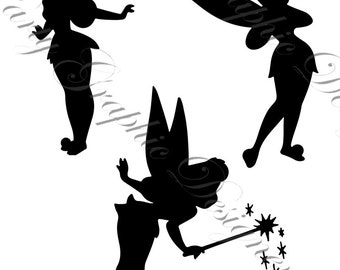 tinkerbell silhouette