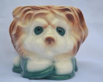 Sale: Vintage Adorable Doggie Planter
