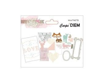 Glitz Design Carpe Diem Whatnots Die-Cuts Assorted Sizes - WN1875