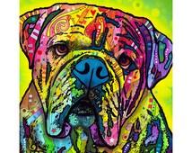 Hey Bulldog Dean Russo Dog Wall Decal #44794