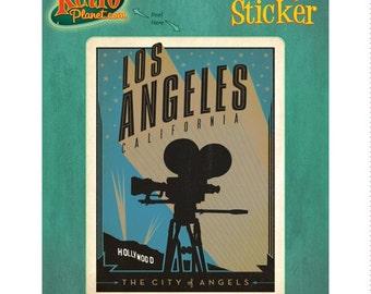 Los Angeles California Movie Vinyl Sticker #47893