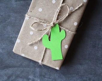 Cactus | Gift Tags