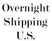 Overnight Shipping- U.S.