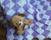 Hand knit baby blanket / blanket newborn Basket Weave Bamboo blanket afghan, blanket boy girl, gift ideas