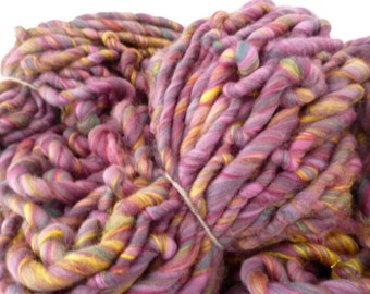 BULK BUY Hand spun merino wool and bamboo yarn, super bulky, 0.5Kg or 1Kg