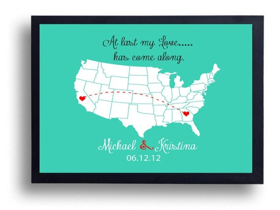 First Wedding Anniversary Gift Ideas For Men: 1st Anniversary Gift Wedding Sign By Instantdownloadart On