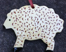 Sheep - Pennsylvania Redware Ornament