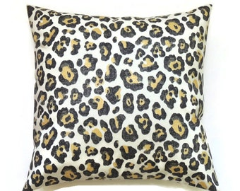 Animal Print Floor Pillows : Animal print pillow Etsy