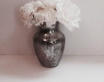 Mercury vase. Painted vase. Home decor. Mercury Home Decor. Wedding Centerpiece