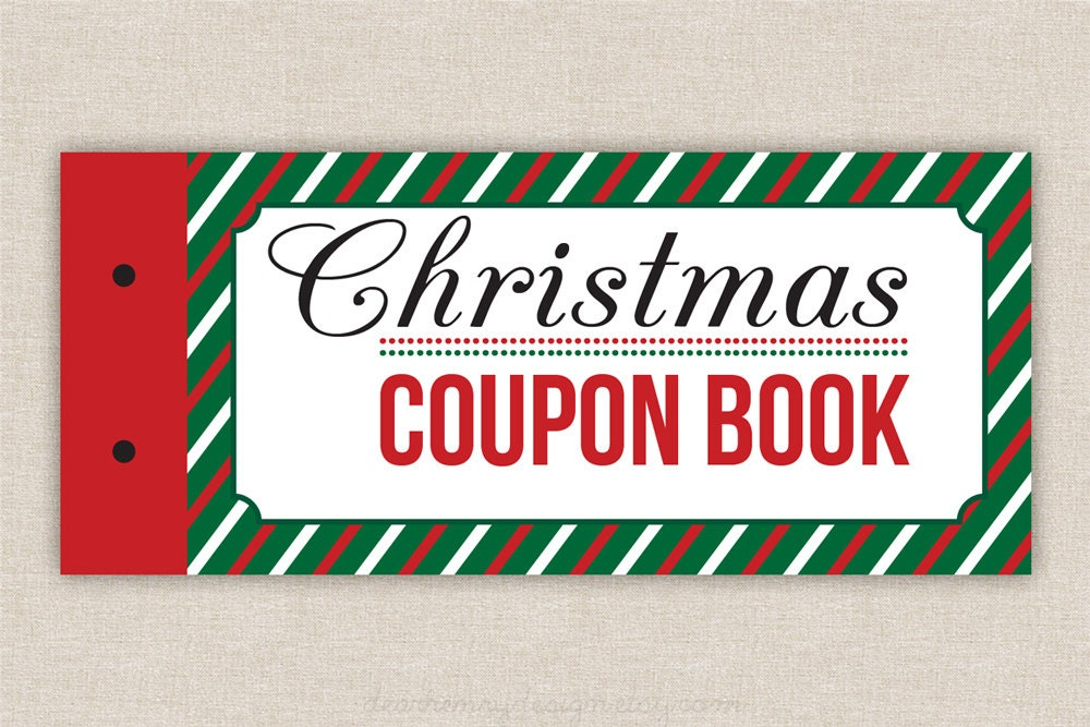 Printable coupons blank christmas coupon book love coupons for Coupon book template for husband