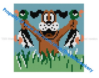 Nintendo Duck Hunt Cross Stitch Pattern