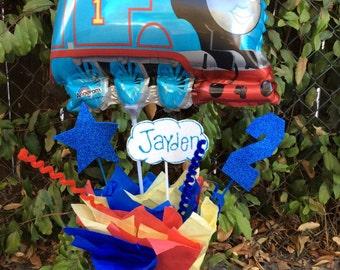 Thomas the Train Birthday Party Centerpiece