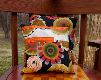 Decorative Hand Made Throw  Pillows. Set of two. These are not pillow covers