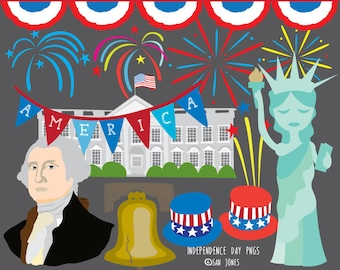 4th of July clip art - Independence Day Clip Art - Patriotic clip art
