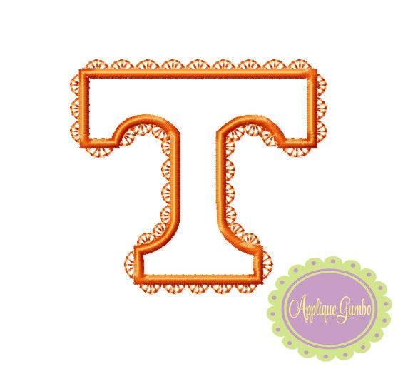 Tennessee Volunteers Machine Embroidery Design