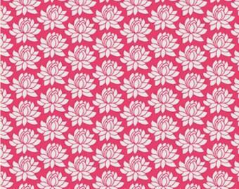 Pink Lotus PDF Cross Stitch Pattern