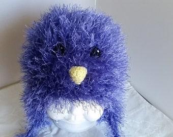 Fuzzy Birdie Hat  #212C
