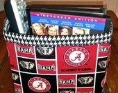 Fabric Basket Organizer - University of Alabama