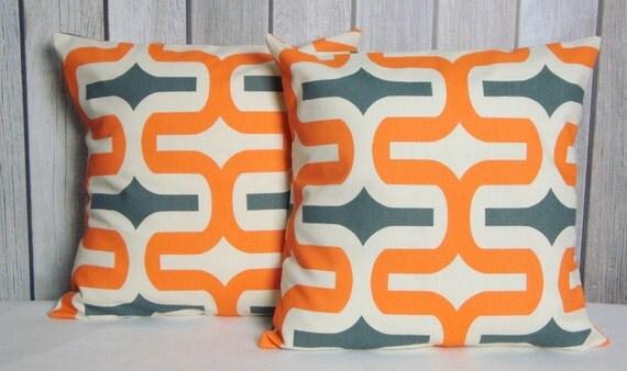 SALE Pillow Covers. Orange Pillows. Striped Pillows. Throw Pillows. Pillows. Modern Pillows. Home Decor