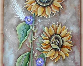 E-PATTERN : Fields of Sun by Liza Design.