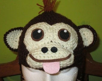 Cheeky monkey hat, prices vary, please see full description for details.