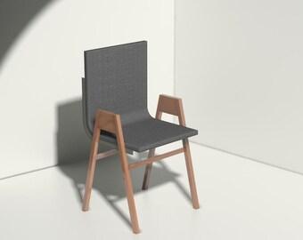 Modern Felt Chair