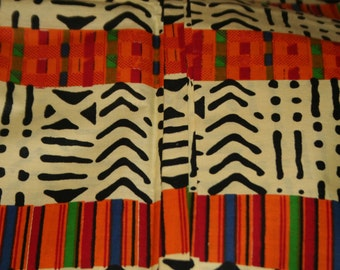 Sold Back orders only  KENTE fABRIC by yardage