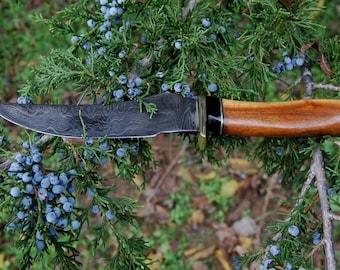 Rahador Damascus Bowie Knife