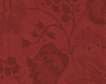 Dutch Chintz - Ton sur Ton Japanese Red FQ