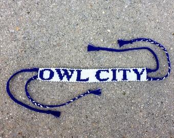 Owl City Friendship Bracelet