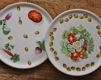 Retro 1960's Platters