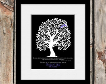 Poem by Hodding Carter Jr, Wings and Roots Quote, Thank You Gift for Parents of Bride, Thank You Gift for Parents of Groom, Thank You Prints