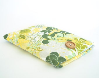 Kindle Cover, Kindle Paperwhite, Kindle Fire HD, Kindle Fire HDX - Spring Leaves