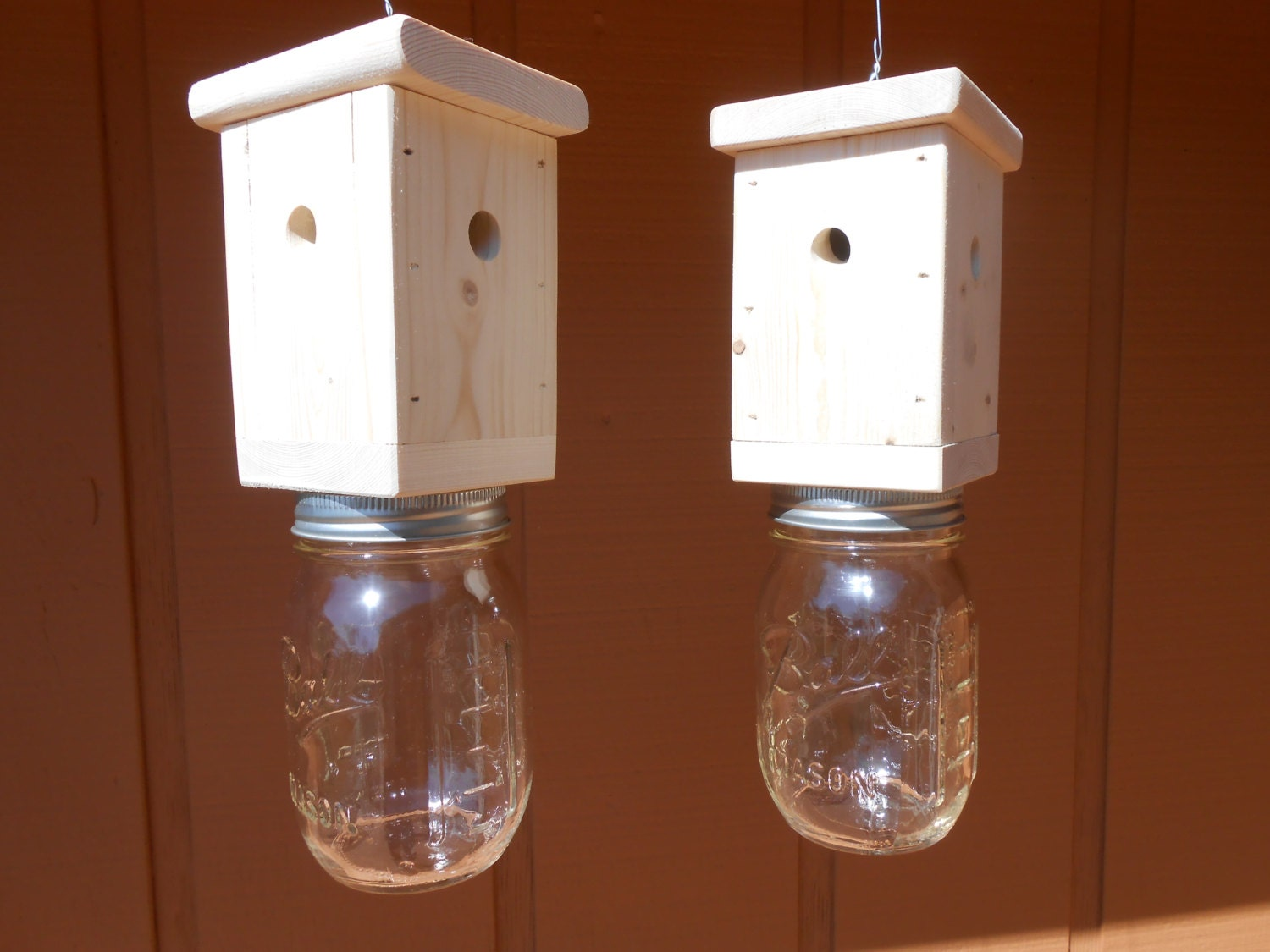 4 Carpenter Bee Traps Wood Boring Bee Traps By