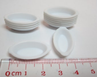 Miniature Plastic Bowl 12pcs PB-001