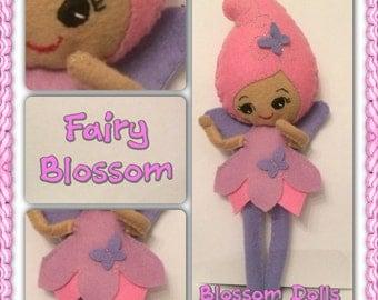 Posable Felt Fairy Doll