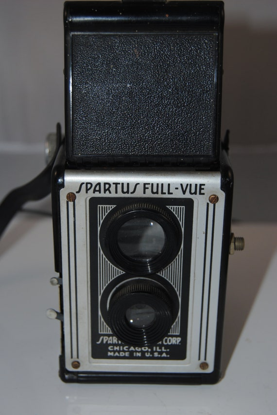 vintage spartus full-vue camera