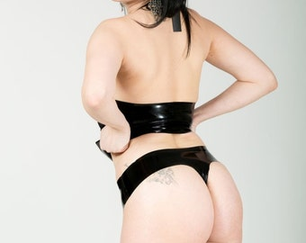 Latex thongs