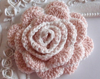 Crochet flower applique CH-022-07